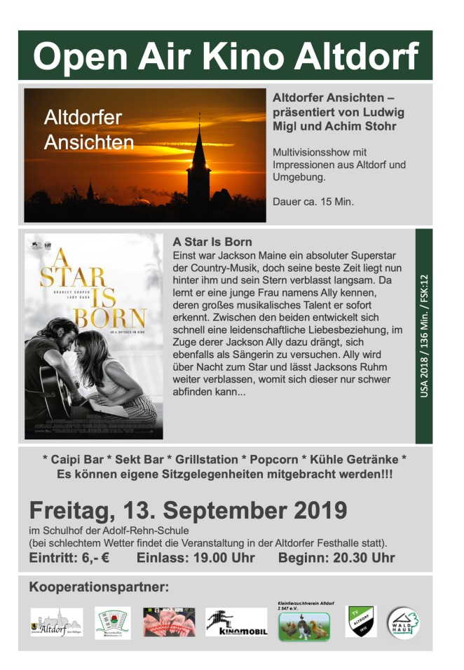 13.9.2019 Open Air Kino Altdorf